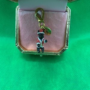 Jewelry - Juicy Couture Santa Dog Charm  Limited Edition